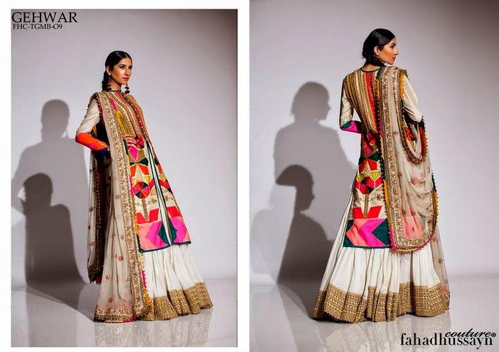 Fahad Husayn Latest Bridal dresses Collection 2014-2015 (10)