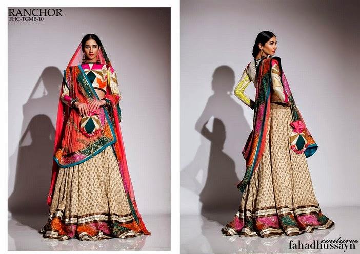 Fahad Husayn Latest Bridal dresses Collection 2014-2015 (11)