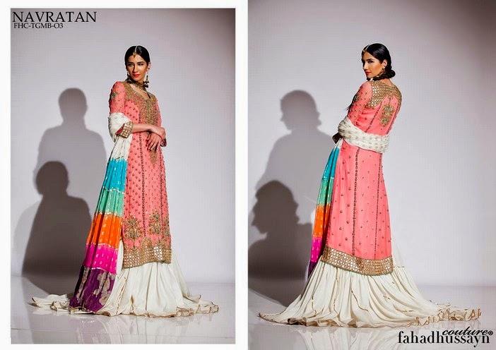 Fahad Husayn Latest Bridal dresses Collection 2014-2015 (2)