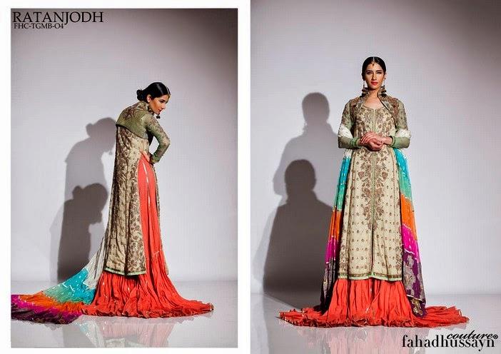 Fahad Husayn Latest Bridal dresses Collection 2014-2015 (3)