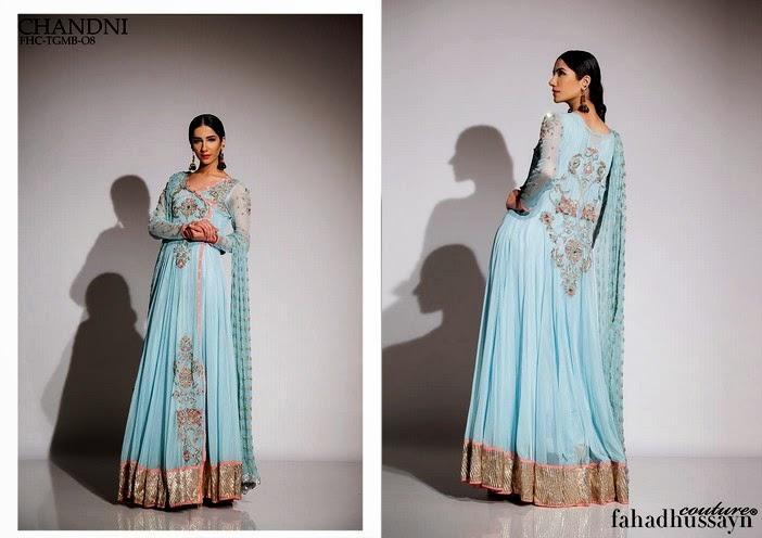 Fahad Husayn Latest Bridal dresses Collection 2014-2015 (5)