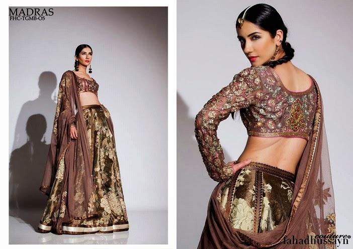 Fahad Husayn Latest Bridal dresses Collection 2014-2015 (8)