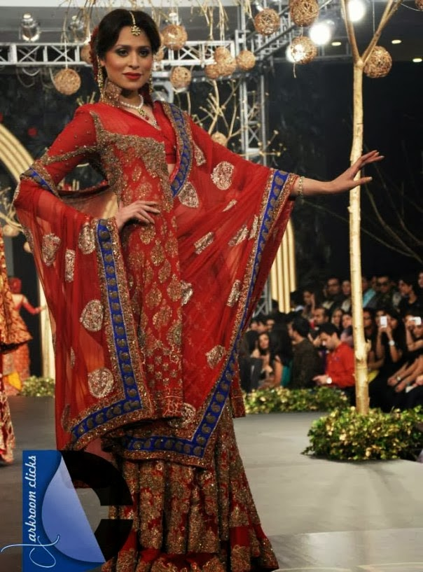 HSY- Latest wedding dresses 2014-2015- Pantene bridal couture week 2014 (2)