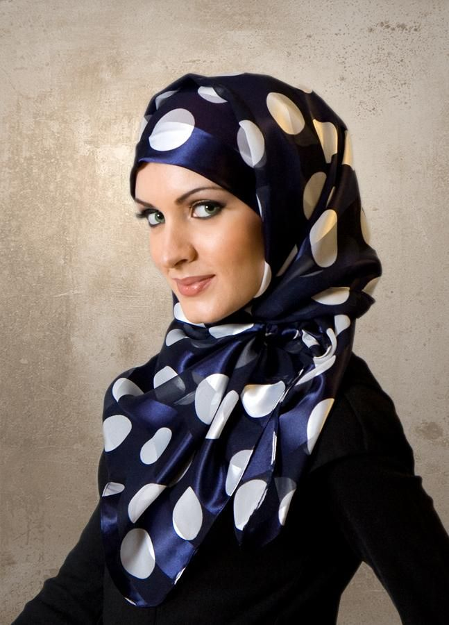 Latest fashion Hijab Styles and Scarf designs for women 2014-2015 (2)
