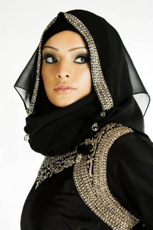 Latest fashion Hijab Styles and Scarf designs for women 2014-2015 (3)