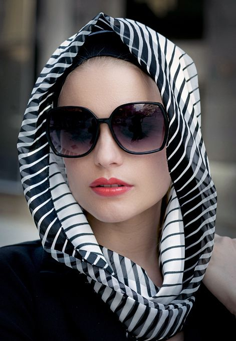 Latest Fashion Hijab Styles And Head Scarf Designs For