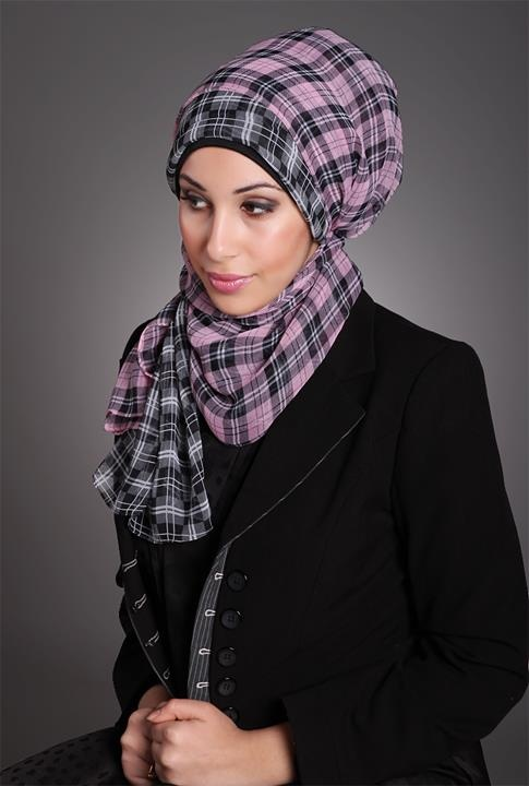 Latest fashion Hijab Styles and Scarf designs for women 2014-2015 (6)