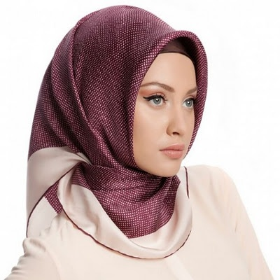 Latest fashion Hijab Styles and Scarf designs for women 2014-2015 (7)