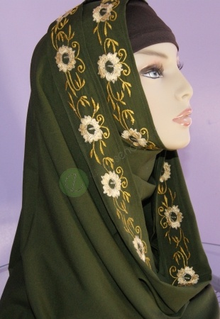 Latest fashion Hijab Styles and Scarf designs for women 2014-2015 (9)