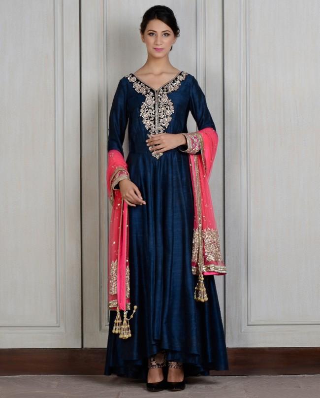 Manish Malhotra Latest Kalidarr Anarkali dresses for women 2014-2015 (1)