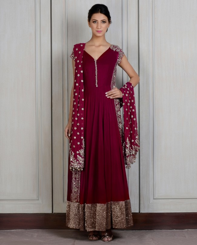 Manish Malhotra Latest Kalidarr Anarkali dresses for women 2014-2015 (2)