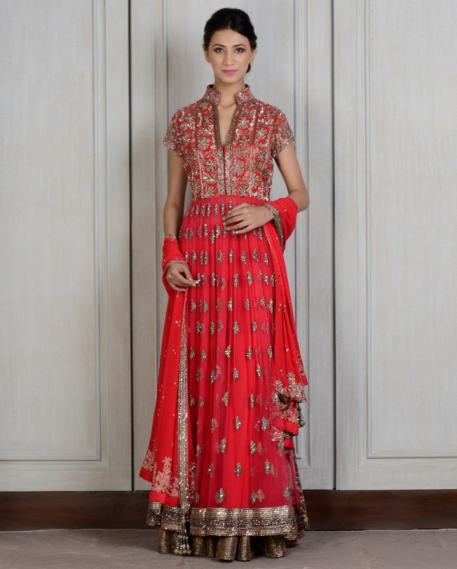 Manish Malhotra Latest Kalidarr Anarkali dresses for women 2014-2015 (3)