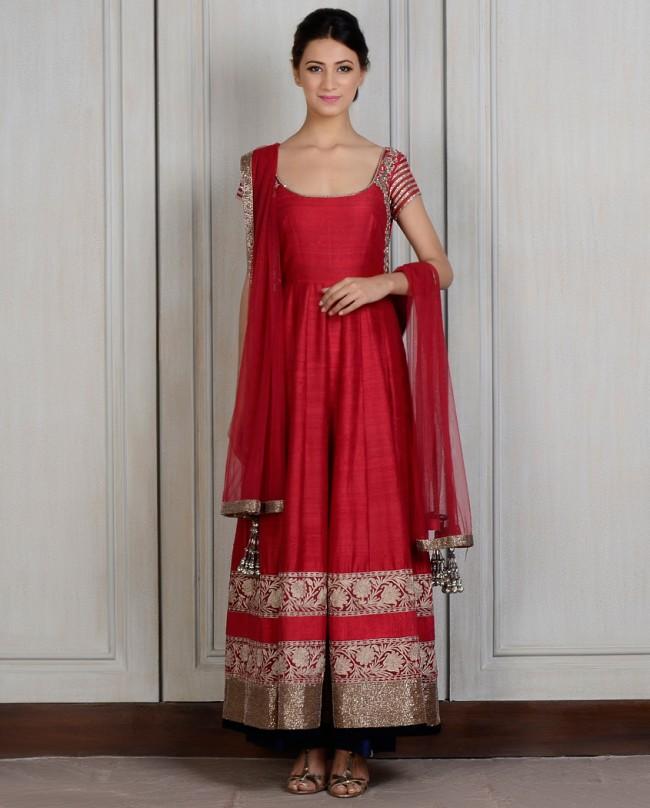 Manish Malhotra Latest Kalidarr Anarkali dresses for women 2014-2015 (4)