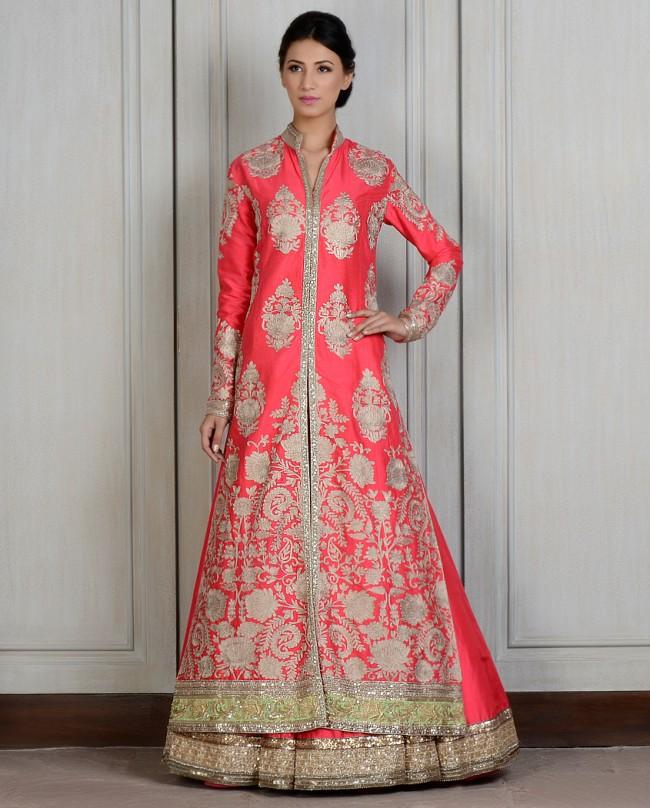 Manish Malhotra Latest Lehnga dresses designs for women 2014-2015 (2)