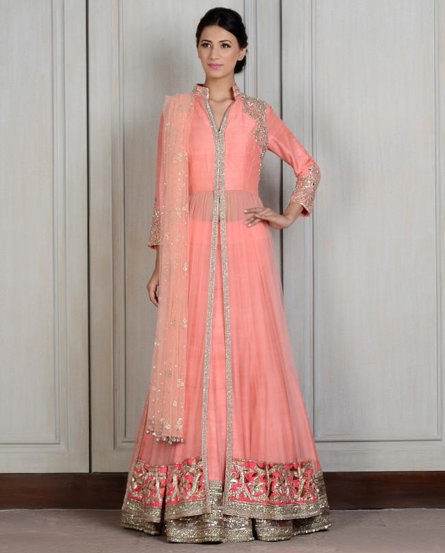 Manish Malhotra Latest Lehnga dresses designs for women 2014-2015 (4)