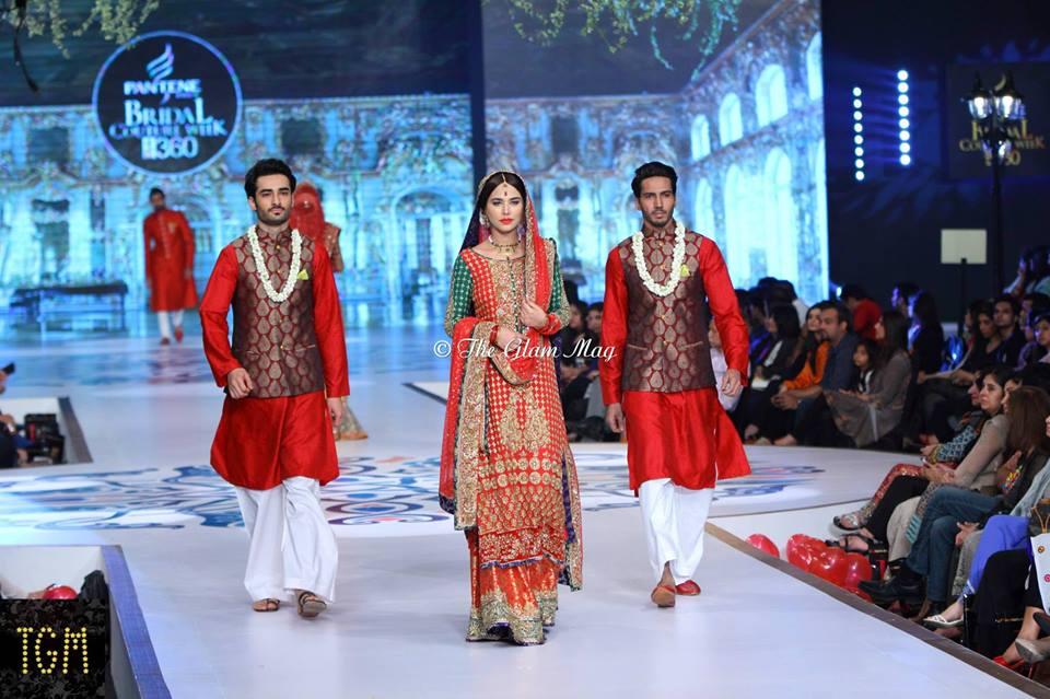 Nomi Ansari Latest Bridal Collection 2014-2015- Pantene Bridal Couture week 2014 (2)