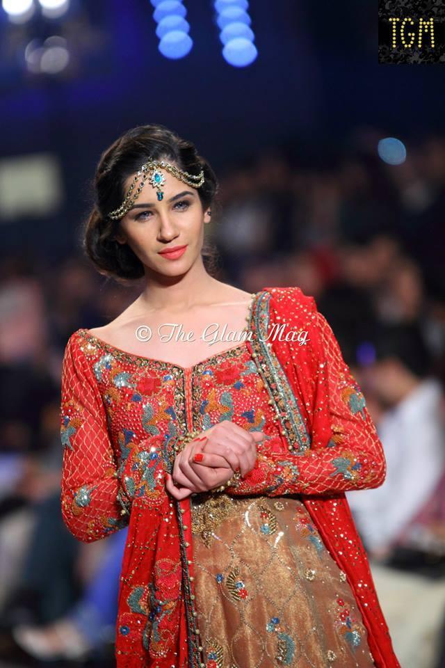 Pantene Bridal Couture weel- Teena Durrani Latest Bridal Collection 2014-2015 (1)