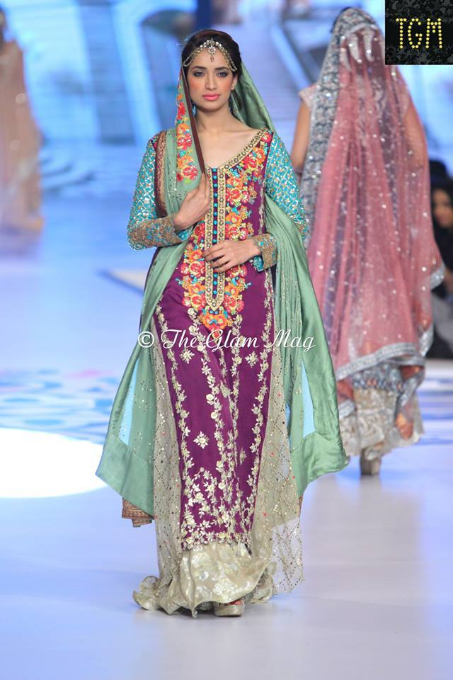 Pantene Bridal Couture weel- Teena Durrani Latest Bridal Collection 2014-2015 (2)