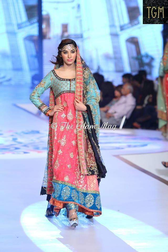 Pantene Bridal Couture weel- Teena Durrani Latest Bridal Collection 2014-2015 (3)
