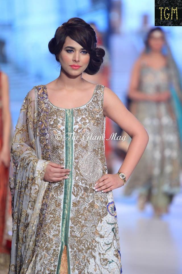 Pantene Bridal Couture weel- Teena Durrani Latest Bridal Collection 2014-2015 (4)