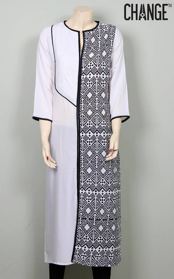 Stylish & Colorful Midsummer Season Kurti wear Dresses Designs for Women by Change 2014-2015 (10)