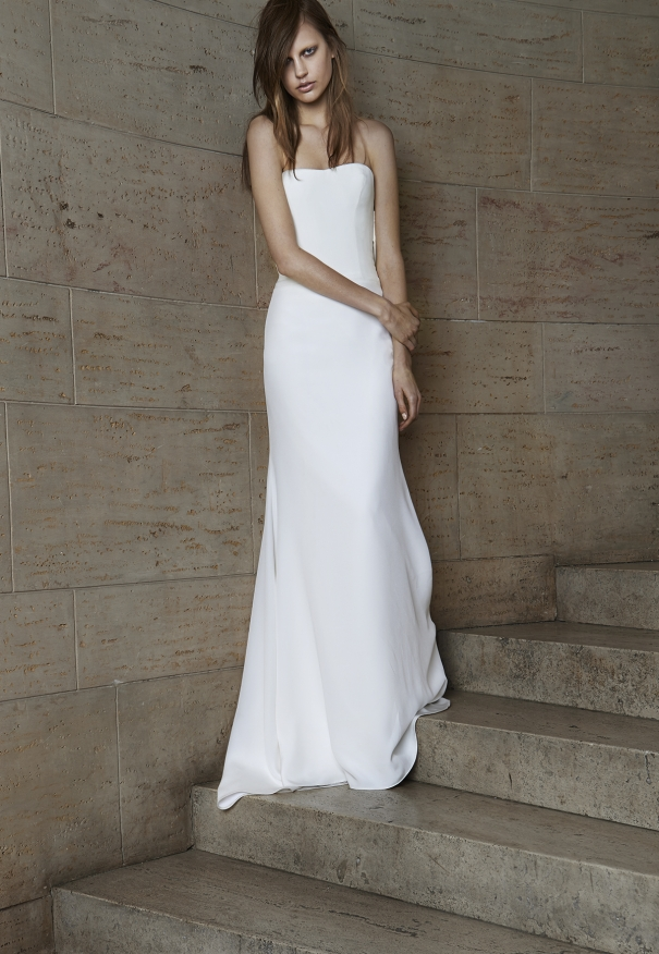 Vera wang Spring Bridal Collection 2014-2015 Wjhite wedding dresses (10)