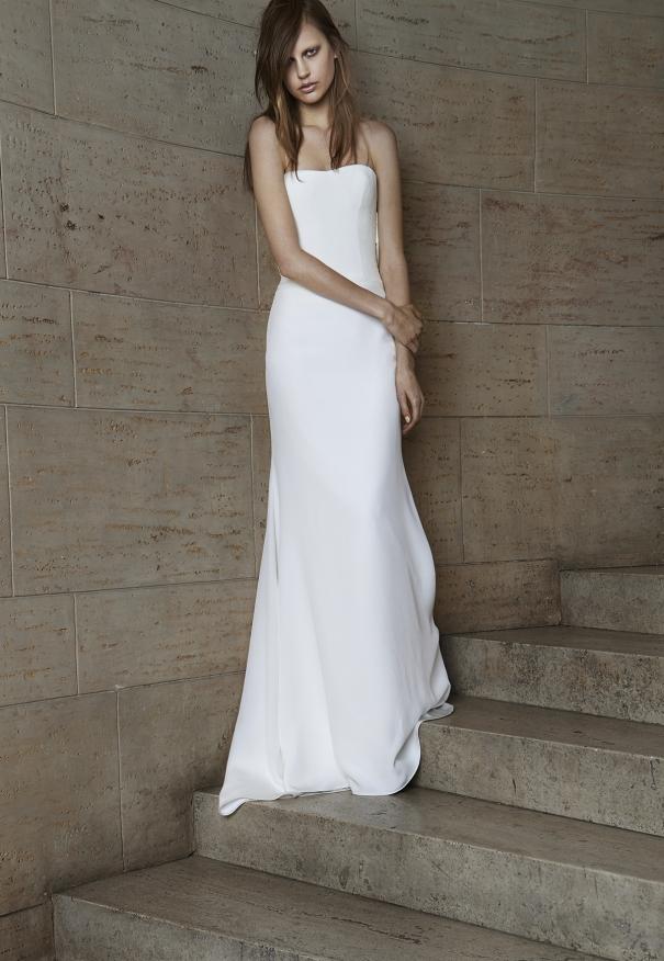 Vera wang Spring Bridal Collection 2014-2015 Wjhite wedding dresses (10)
