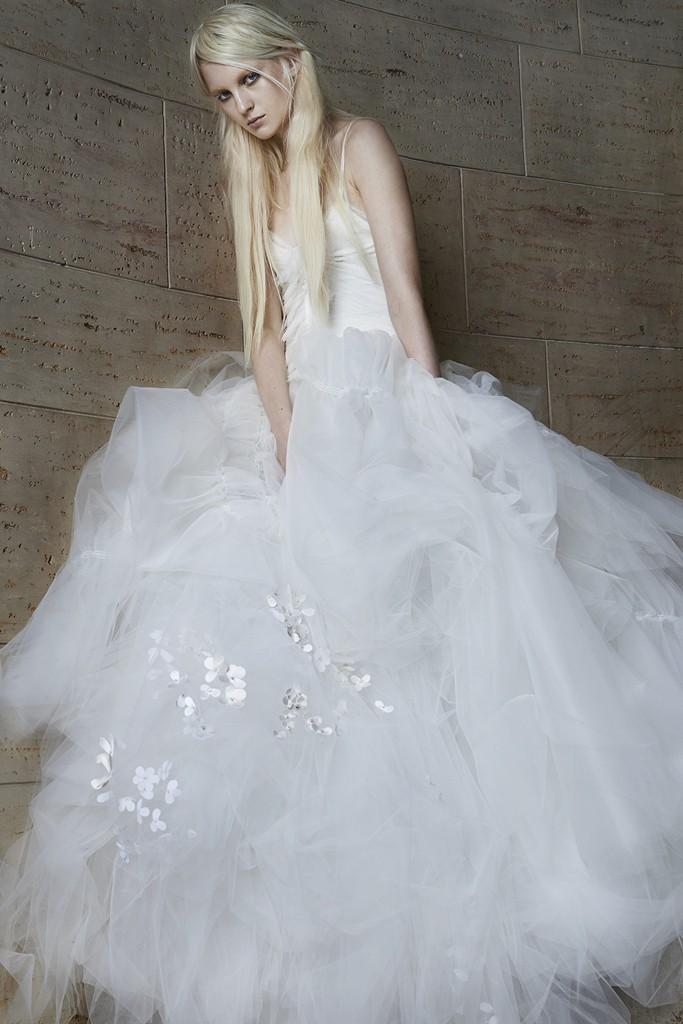 Vera wang Spring Bridal Collection 2014-2015 Wjhite wedding dresses (3)