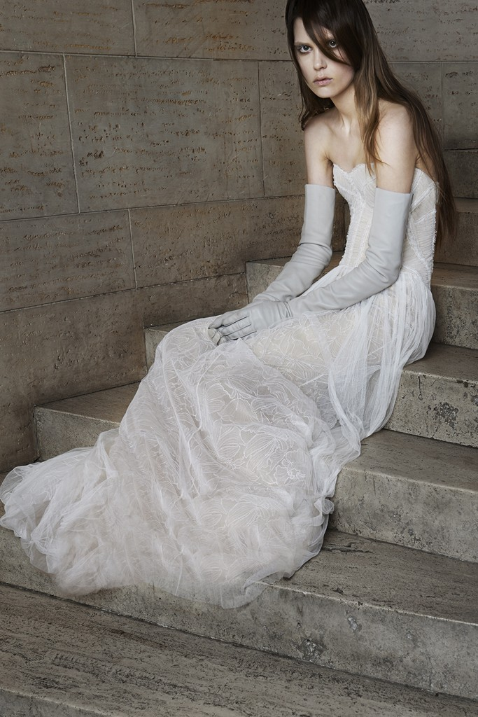 Vera wang Spring Bridal Collection 2014-2015 Wjhite wedding dresses (6)