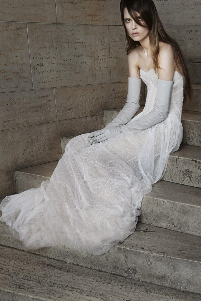 Vera wang Spring Bridal Collection 2014-2015 Wjhite wedding dresses (6)