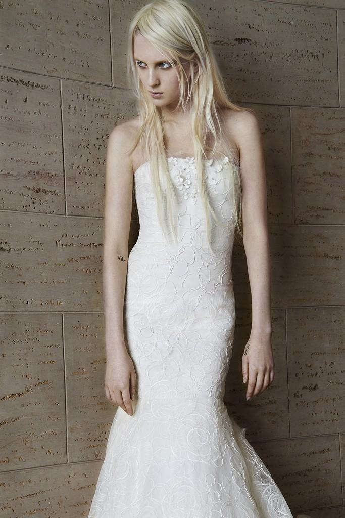 Vera wang Spring Bridal Collection 2014-2015 Wjhite wedding dresses (7)