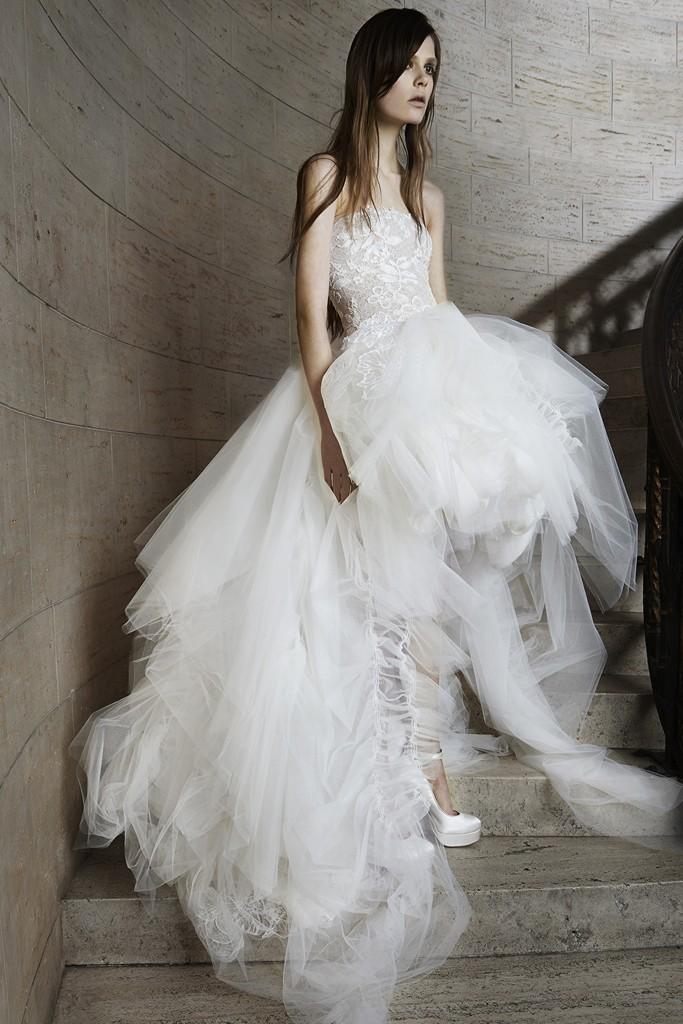 Vera wang Spring Bridal Collection 2014-2015 Wjhite wedding dresses (9)