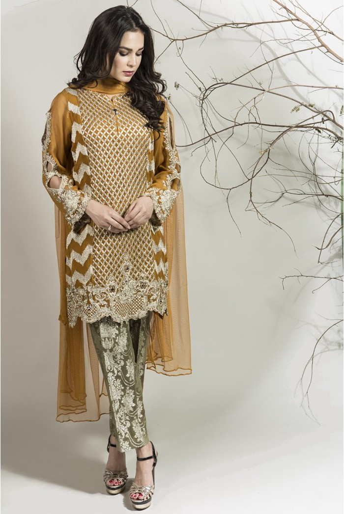 Winter dresses 2018 pakistani fashion