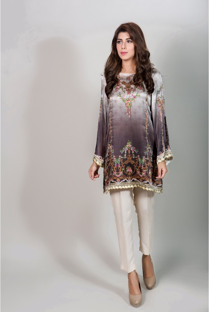 f29fd2a15 Winter Party Wear Dresses by Maria B Stitched Collection 2018-2019