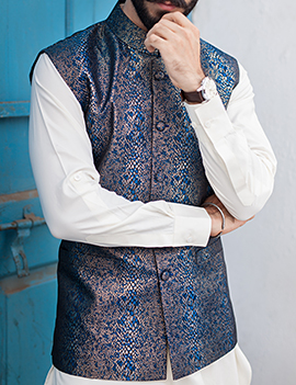 Arsalan Iqbal Men Festive Collection 2016-2017 Kurta Shalwar & Waist Coat Designs (1)
