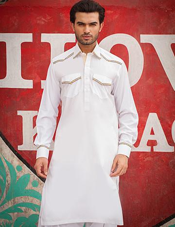 Arsalan Iqbal Men Festive Collection 2016-2017  Kurta Shalwar & Waist Coat Designs (10)
