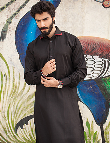 Arsalan Iqbal Men Festive Collection 2016-2017 Kurta Shalwar & Waist Coat Designs (11)