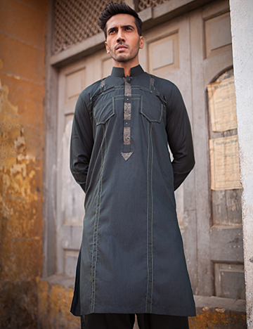 Arsalan Iqbal Men Festive Collection 2016-2017 Kurta Shalwar & Waist Coat Designs (14)