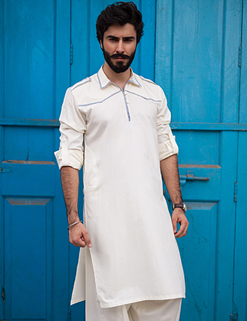 Arsalan Iqbal Men Festive Collection 2016-2017  Kurta Shalwar & Waist Coat Designs (16)