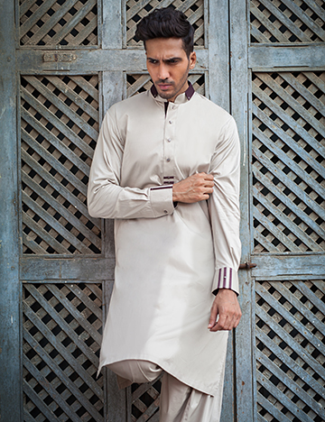 Arsalan Iqbal Men Festive Collection 2016-2017  Kurta Shalwar & Waist Coat Designs (17)