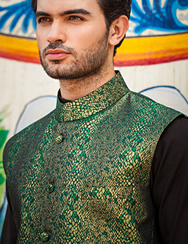 Arsalan Iqbal Men Festive Collection 2016-2017 Kurta Shalwar & Waist Coat Designs (18)