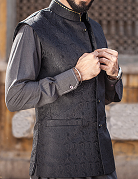 Arsalan Iqbal Men Festive Collection 2016-2017  Kurta Shalwar & Waist Coat Designs (19)