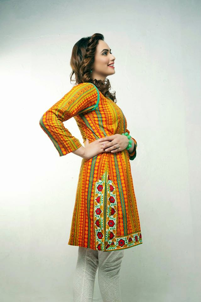 Bonanza Latest Summer Eid Wear Formal Dresses Collection for Women 2014 (1)