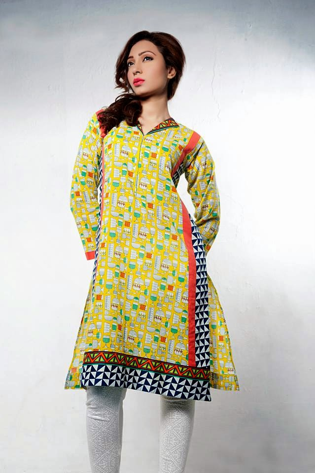 Bonanza Latest Summer Eid Wear Formal Dresses Collection for Women 2014 (2)