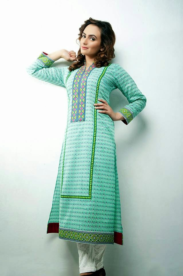 Bonanza Latest Summer Eid Wear Formal Dresses Collection for Women 2014 (3)