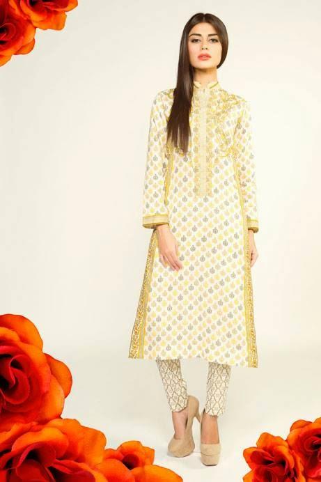Bonanza Latest Summer Eid Wear Formal Dresses Collection for Women 2014 (5)