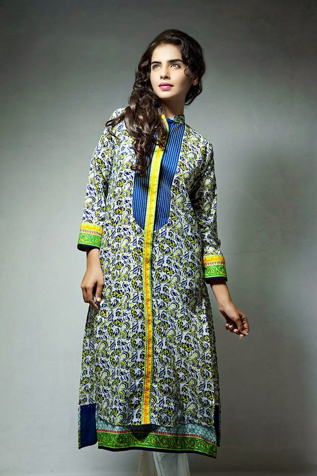 Bonanza Latest Summer Eid Wear Formal Dresses Collection for Women 2014 (6)