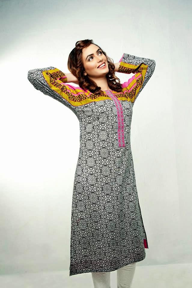 Bonanza Latest Summer Eid Wear Formal Dresses Collection for Women 2014 (7)