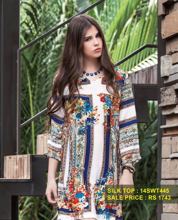 Breakout Summer Casual wear Eid ul Fitr Dresses Collection For Men & Women 2014 (1)