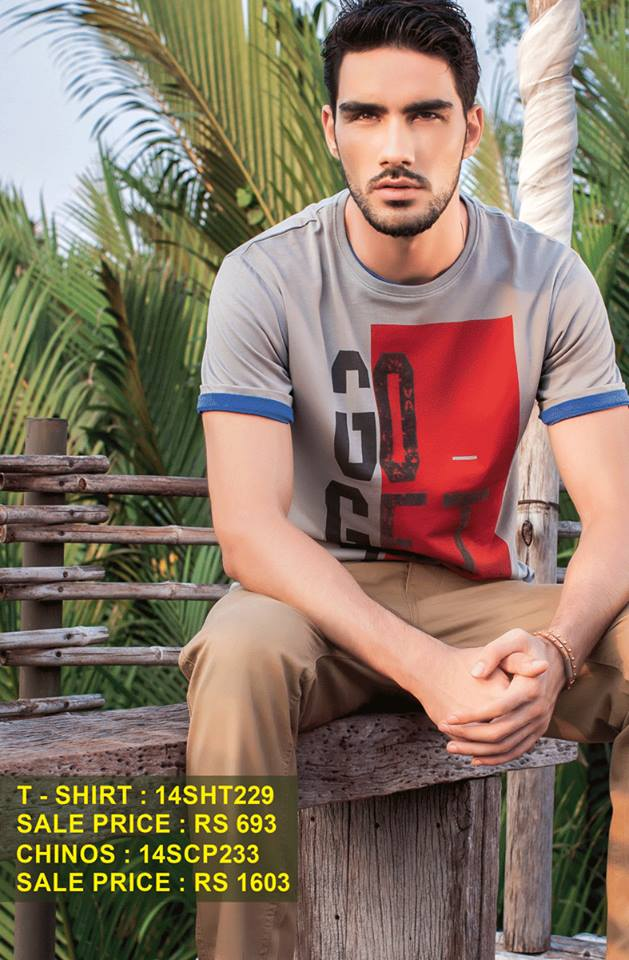Breakout Summer Casual wear Eid ul Fitr Dresses Collection For Men & Women 2014 (12)
